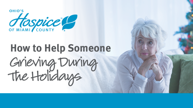 Holidays Can Be Hard On Those Who Are Grieving