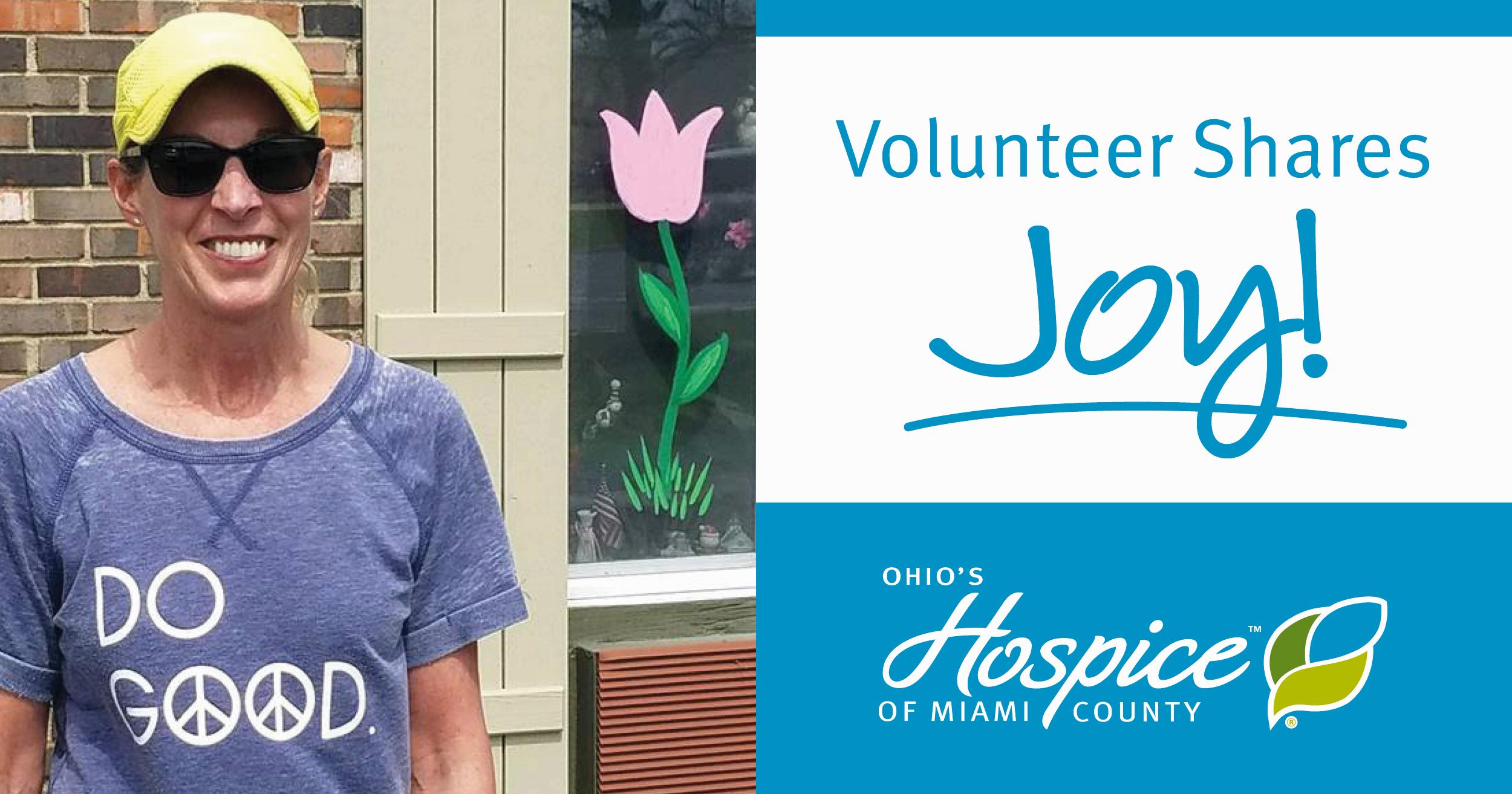 Volunteer Spreads Joy