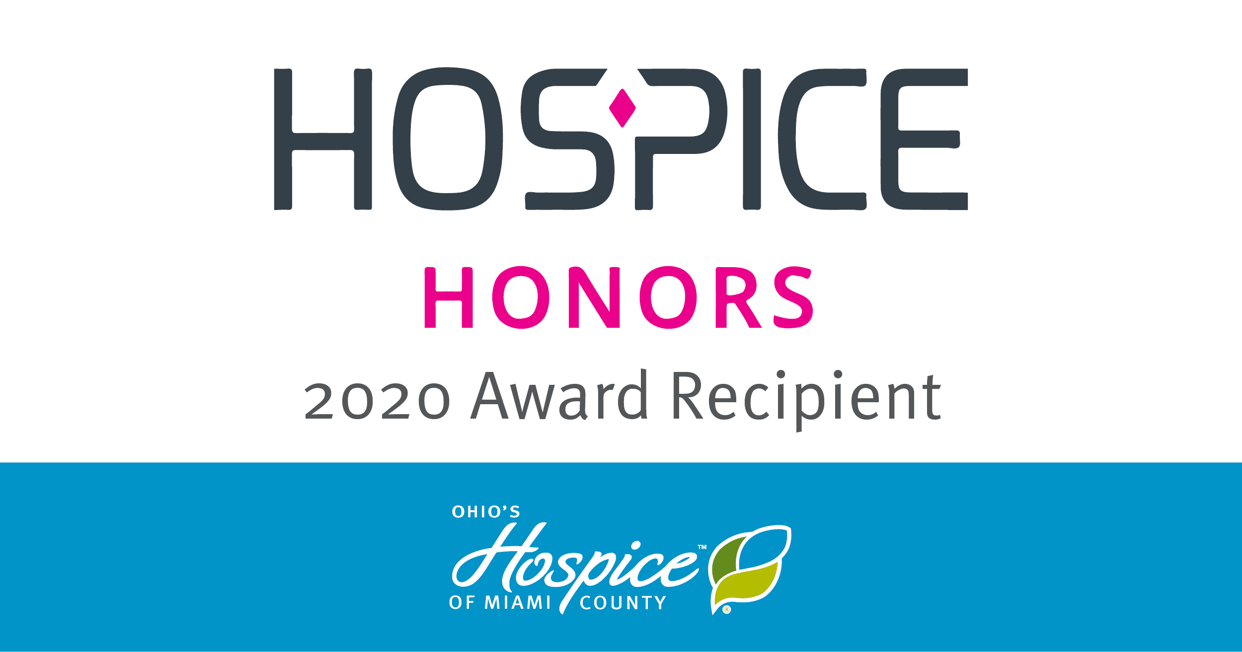 2020 Hospice Honors Recipient